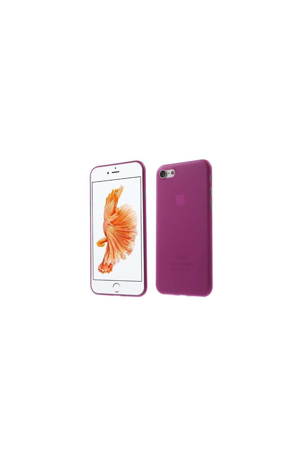 Pouzdro TPU Classic Apple iPhone 7/8, rose gold