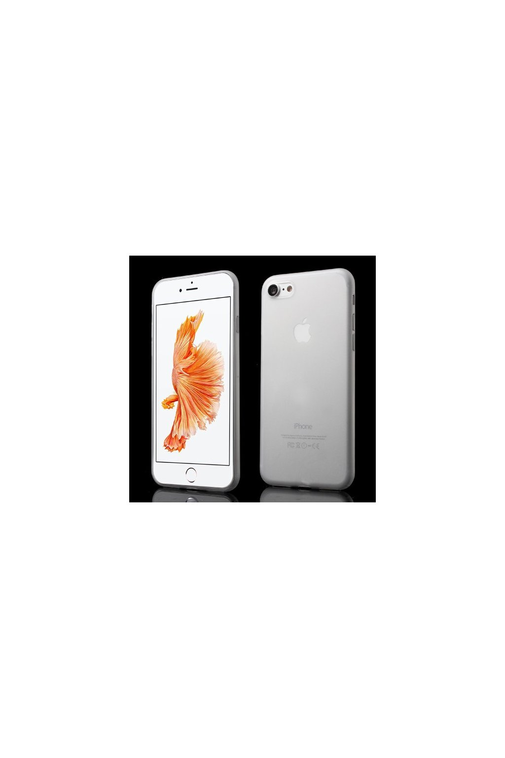 Pouzdro TPU Classic Apple iPhone 7/8, white