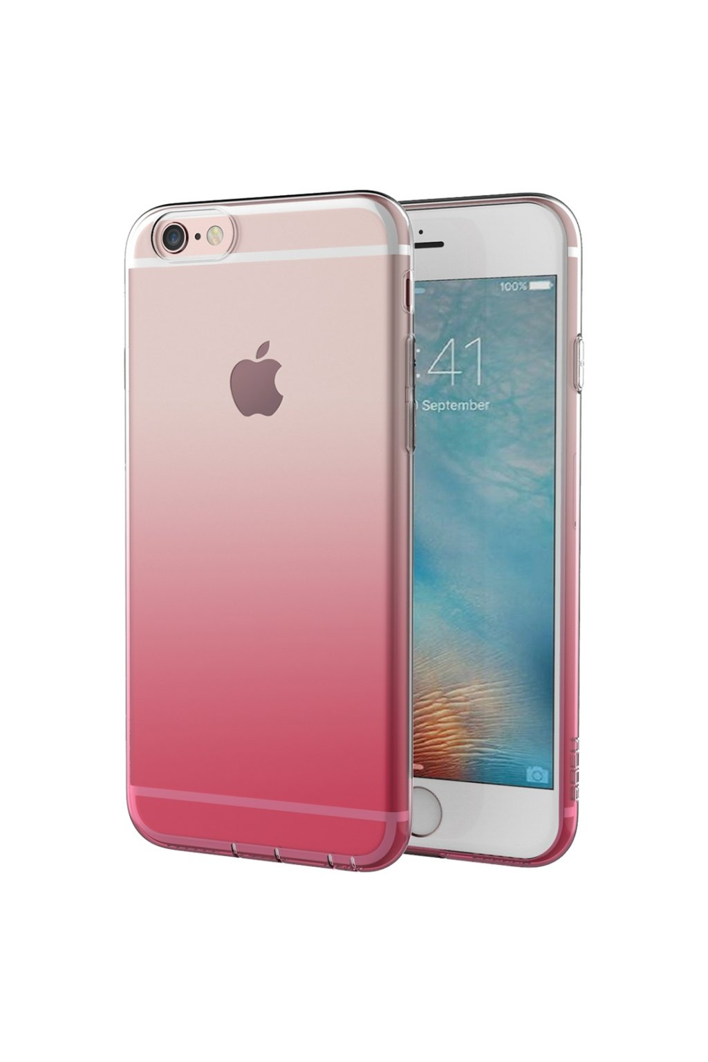 Pouzdro ROCK Iris Apple iPhone 6/6S Plus, pink