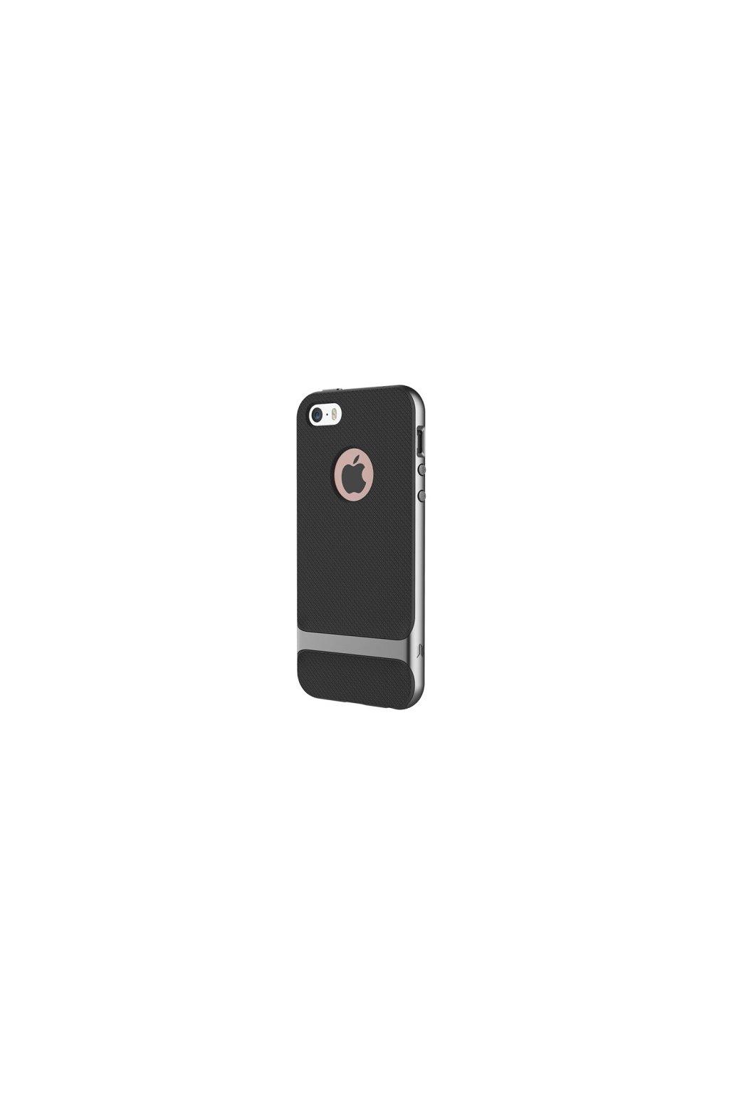 Pouzdro Rock Royce Apple iPhone 5/5S/SE Grey