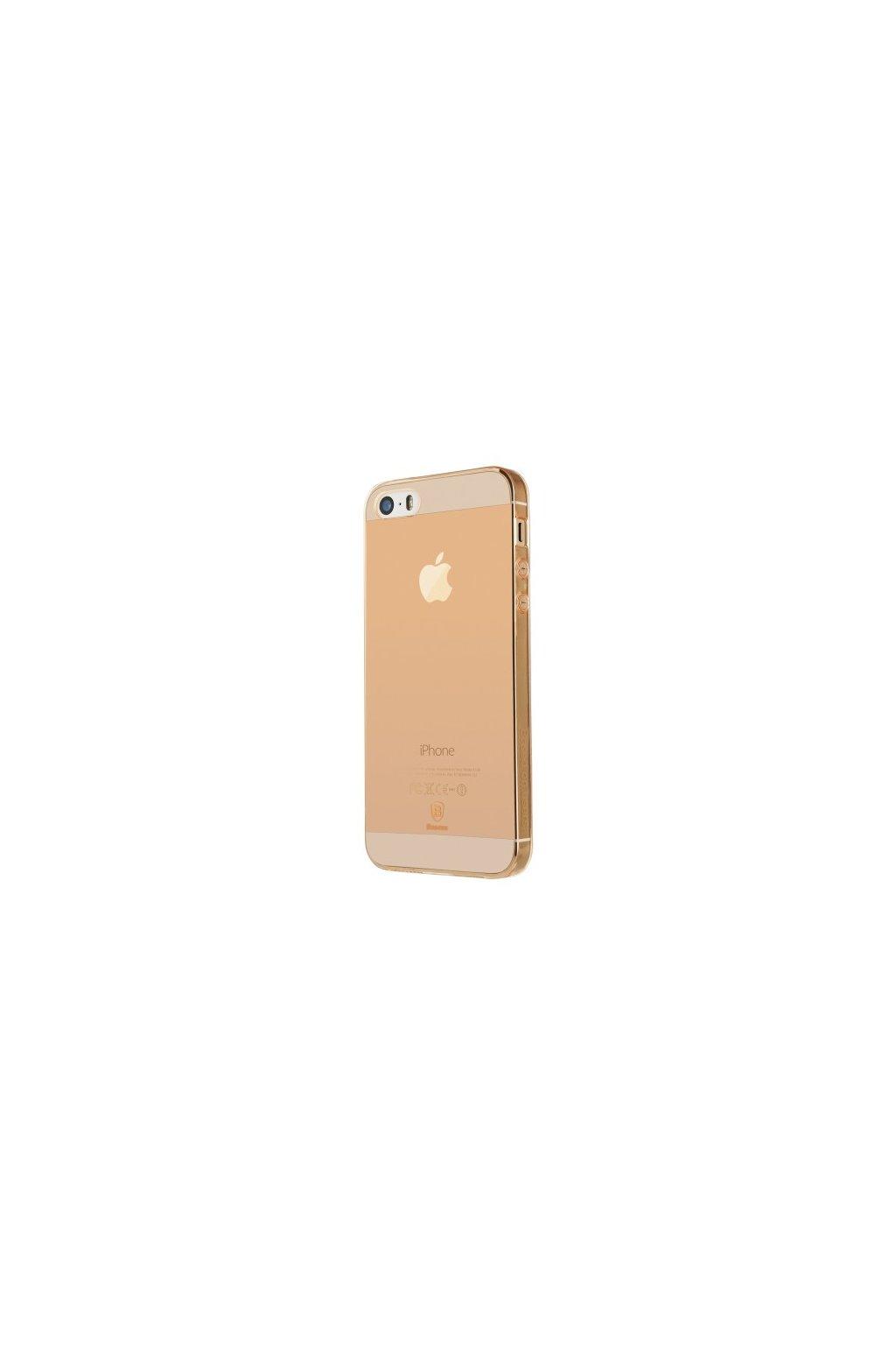 Pouzdro Baseus Simple Apple iPhone 5/5S/SE, rose gold