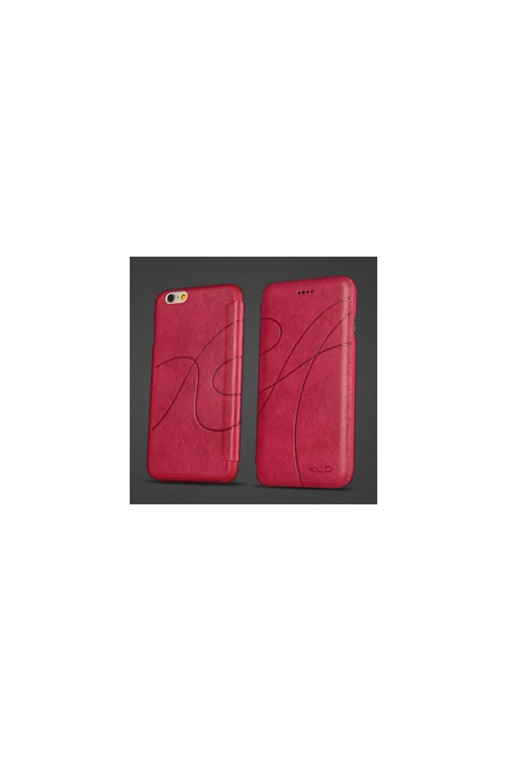 Pouzdro flip Oscar Apple iPhone 6/6S, rose