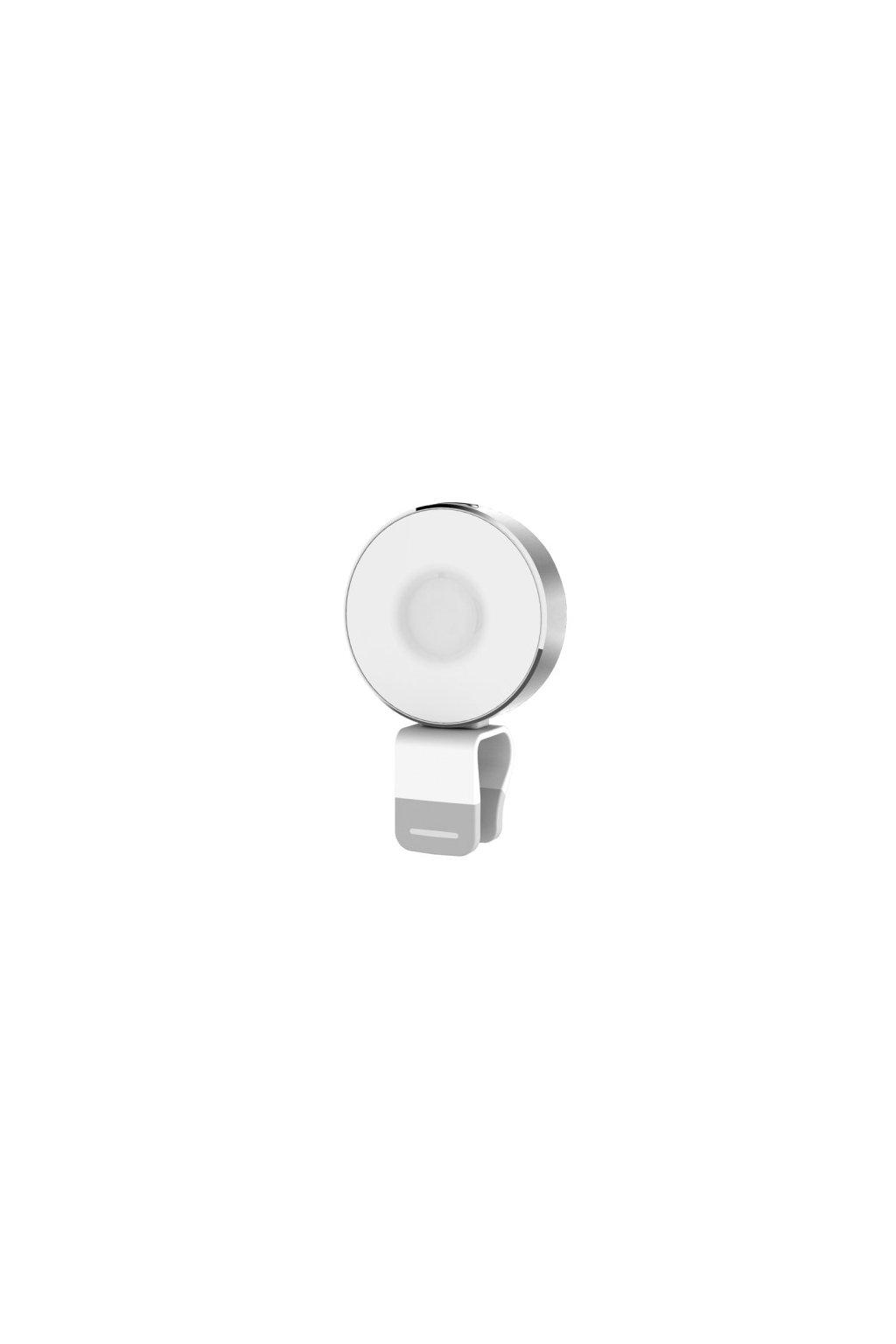 LED USB svítilna ROCK, silver