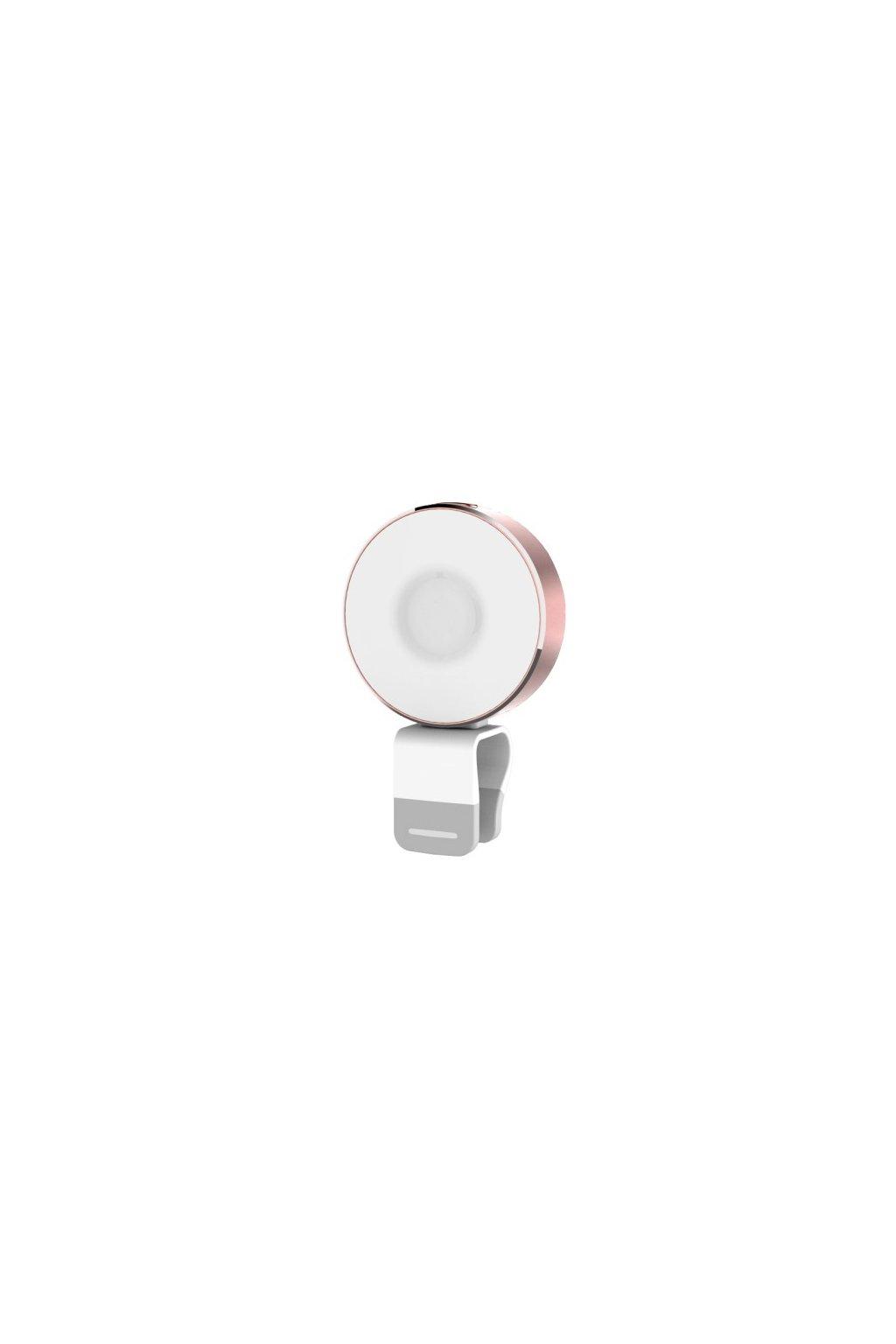 LED USB svítilna ROCK, rose gold