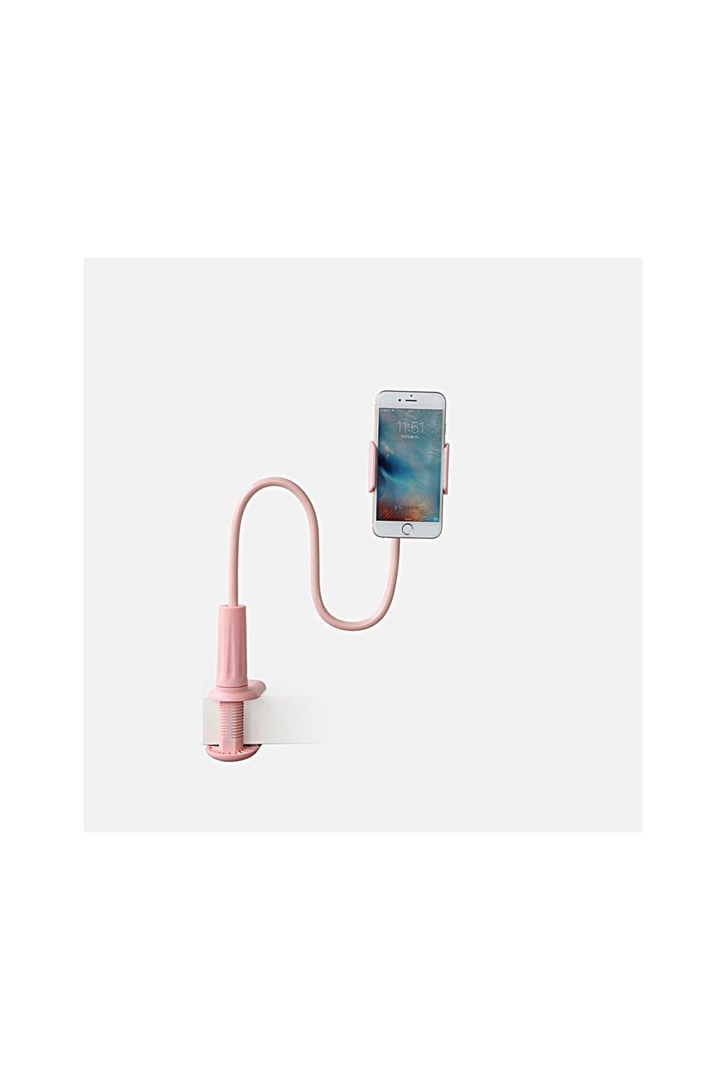 Univerzální stojan ROCK pro Apple iPhone, pink
