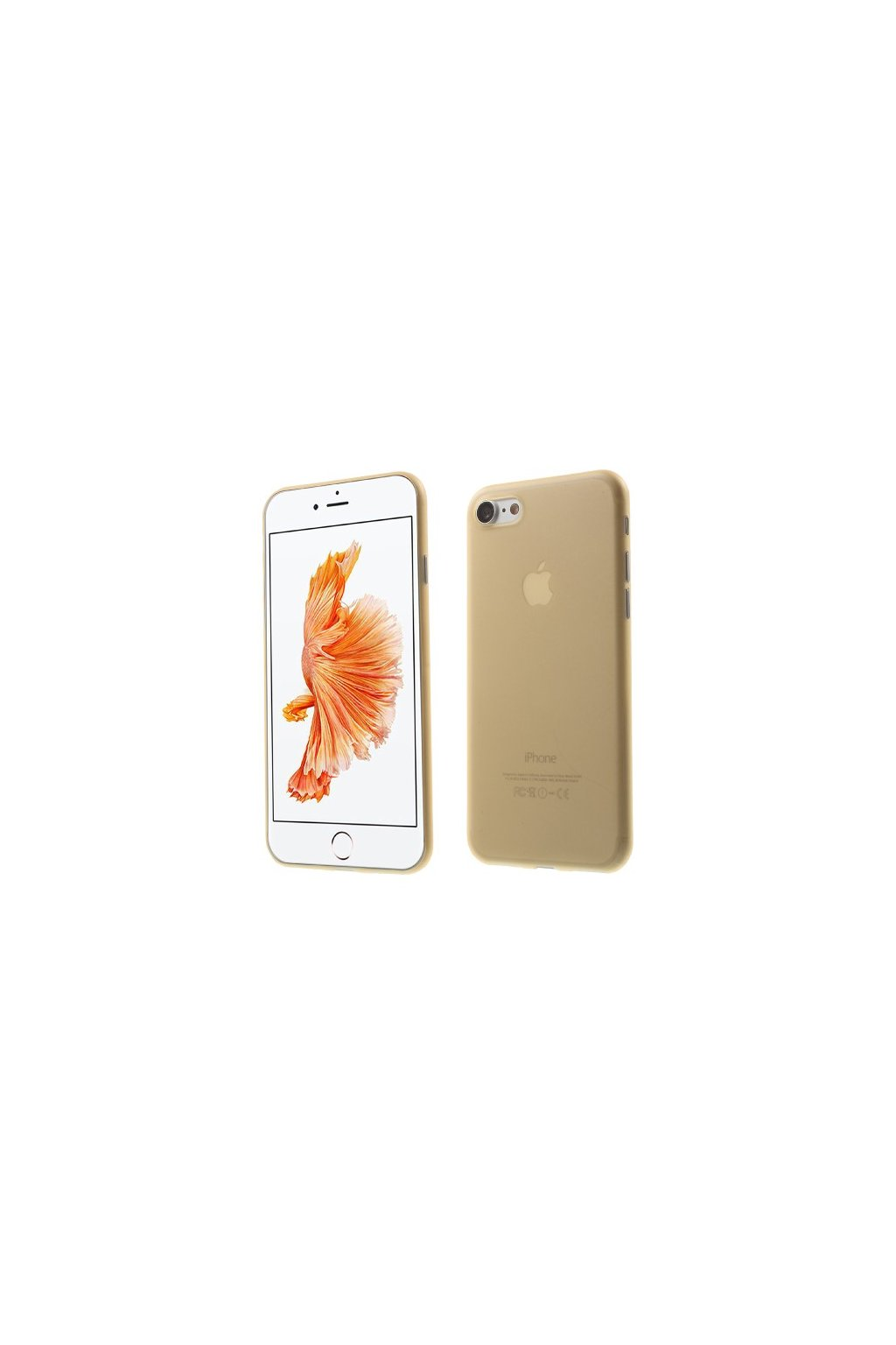 Pouzdro TPU Classic Apple iPhone 7/8, gold