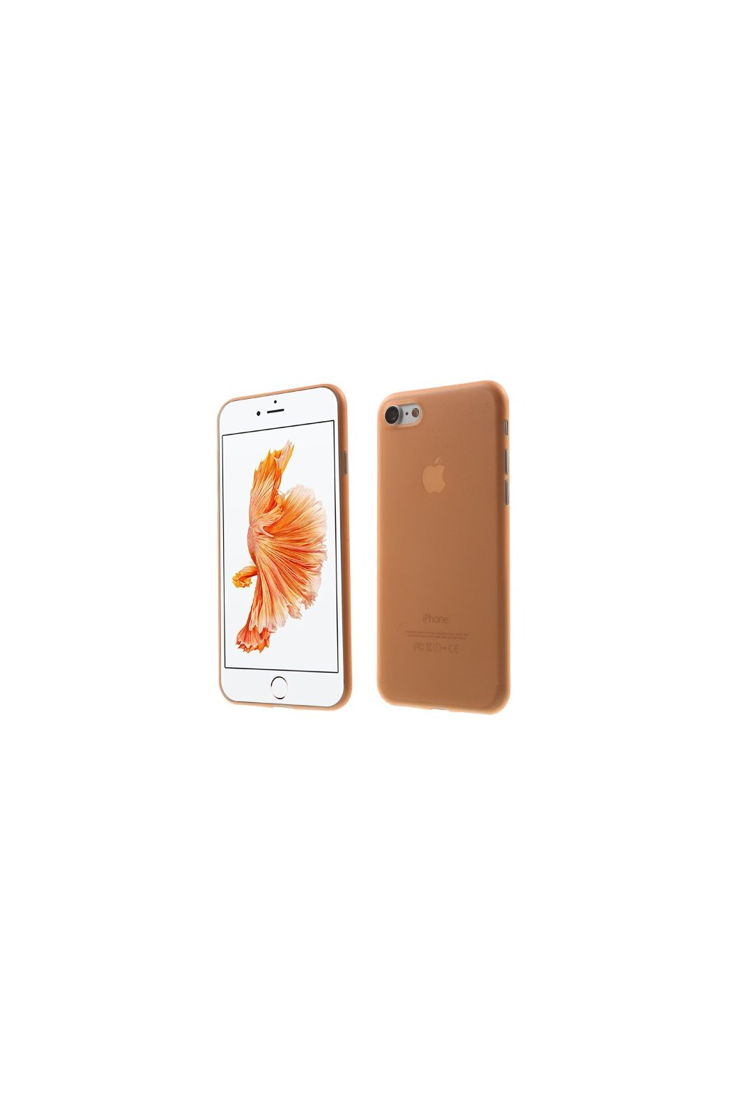 Pouzdro TPU Classic Apple iPhone 7/8, orange