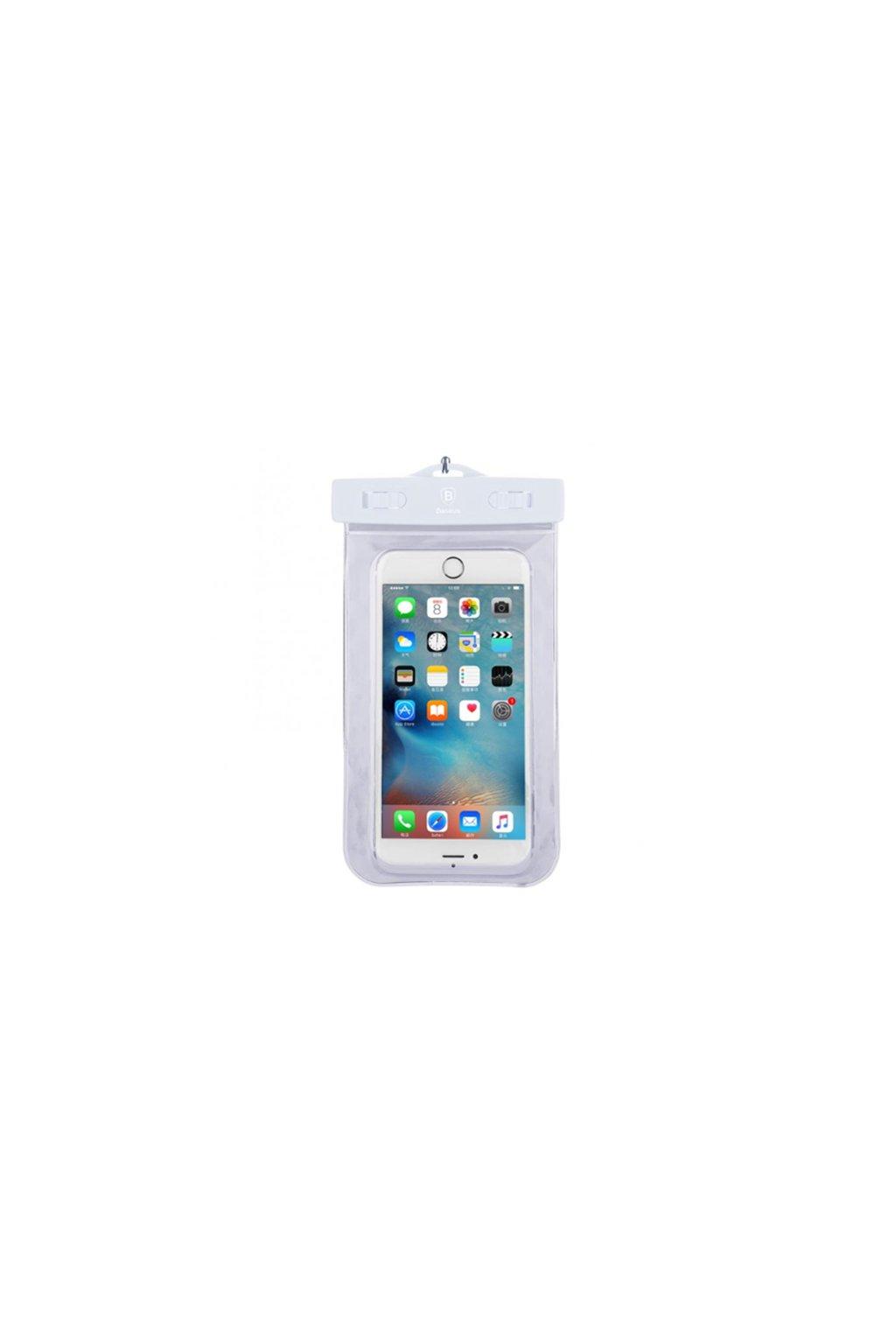 Voděodolné pouzdro Baseus Apple iPhone, white