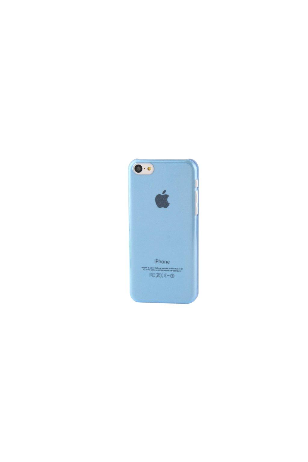 Pouzdro Powder plastové iPhone 5C, blue/modrá