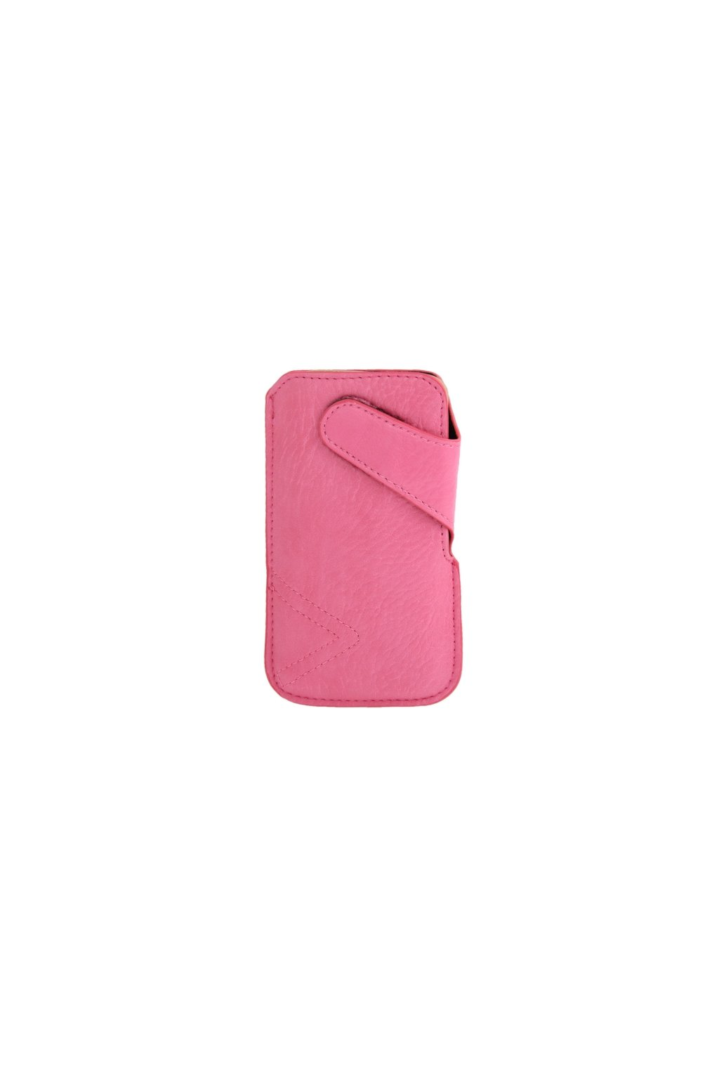 Koženkové pouzdro Pull iPhone 5/5S, pink/růžová
