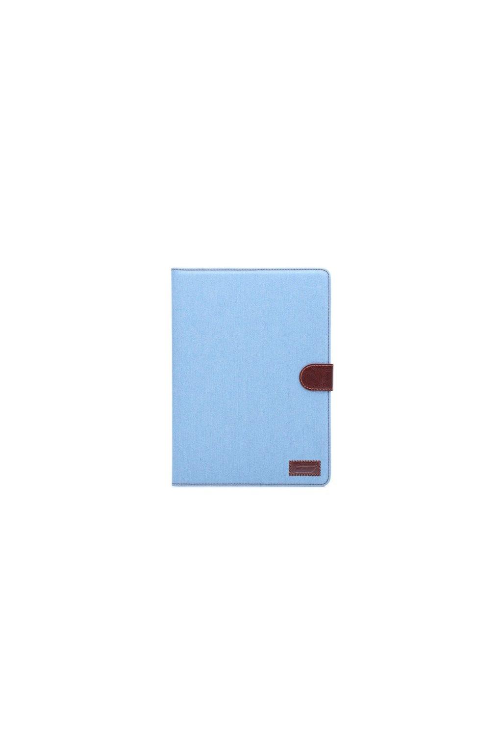 Pouzdro Denim Leather iPad Air 2, blue/světle modrá