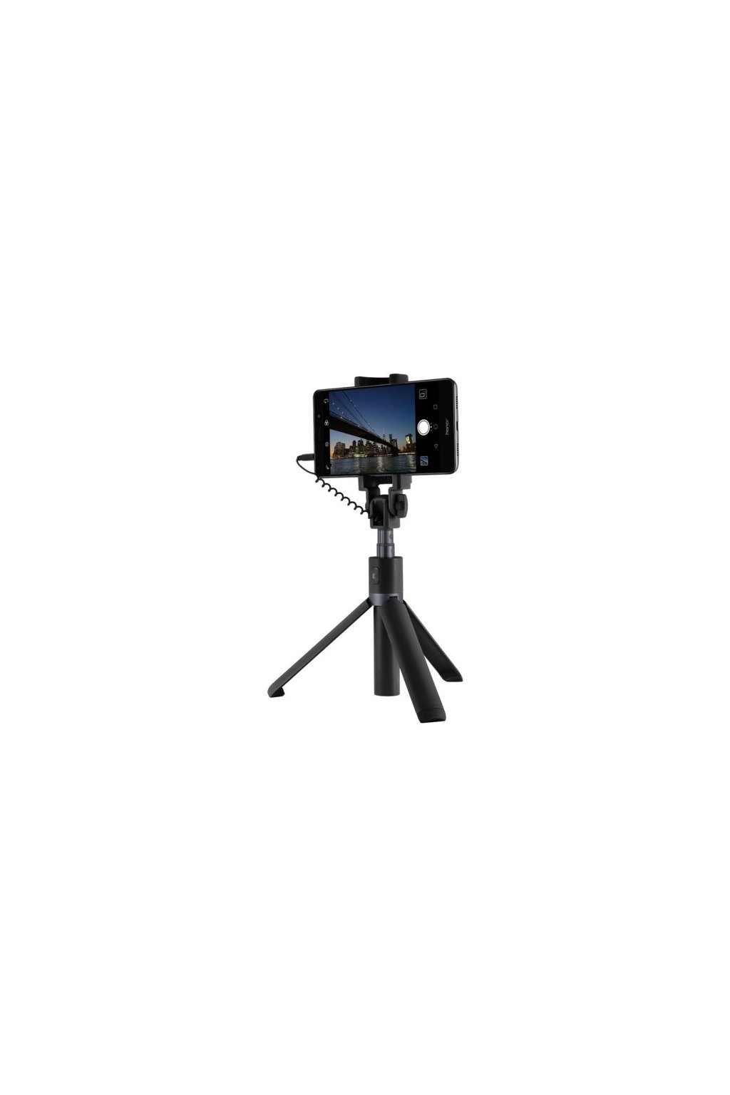 Teleskopická SELFIE tyč Honor 50cm, black