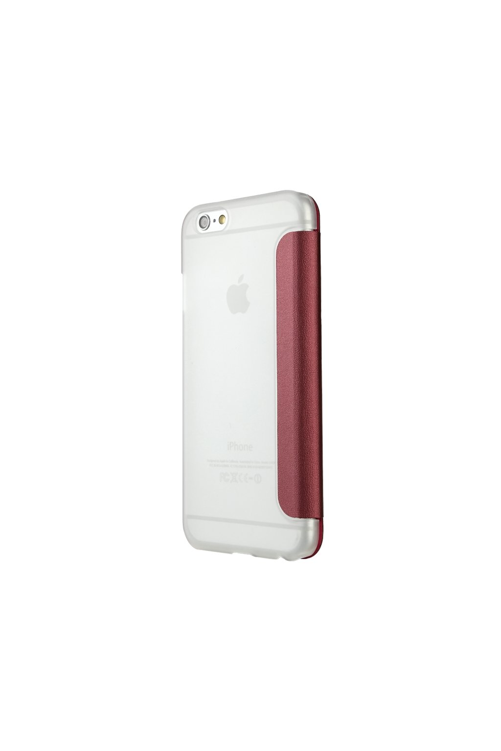 Apple iPhone 6/6S pouzdro Baseus Caller ID flip, red/červená