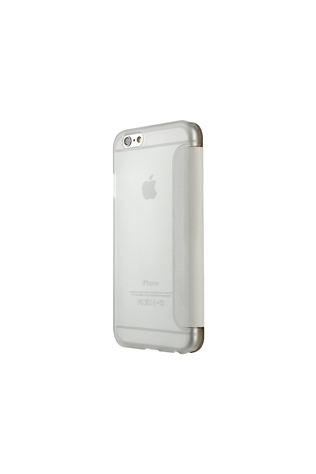 Apple iPhone 6/6S  pouzdro Baseus Caller ID flip, white/bílá