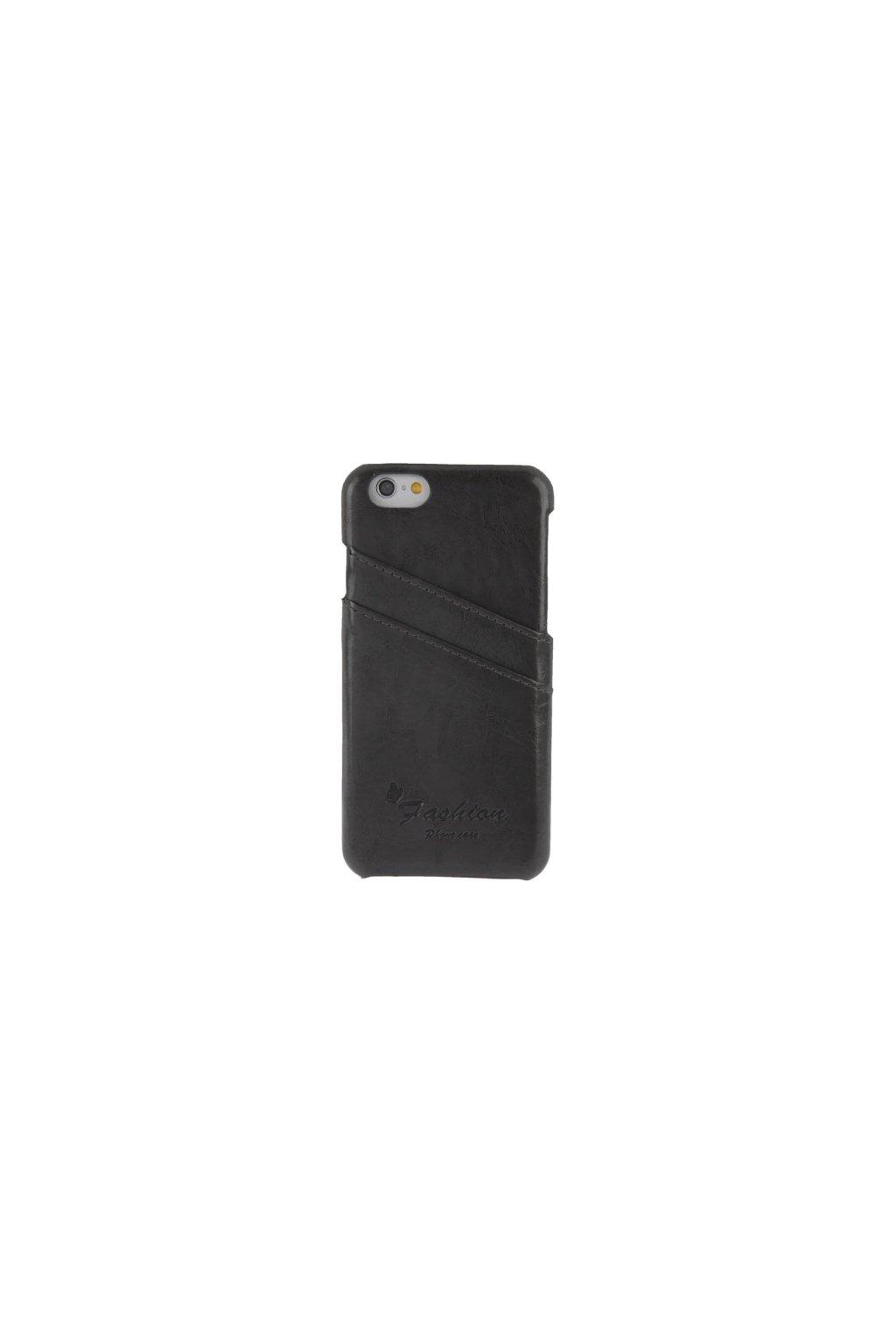 Koženkové pouzdro Retro Apple iPhone 6/6S, Grey
