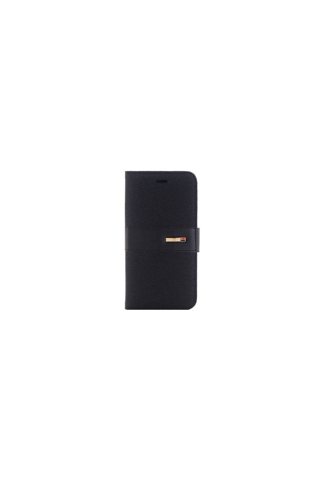 Apple iPhone 6/6S pouzdro flip DENIM, Black