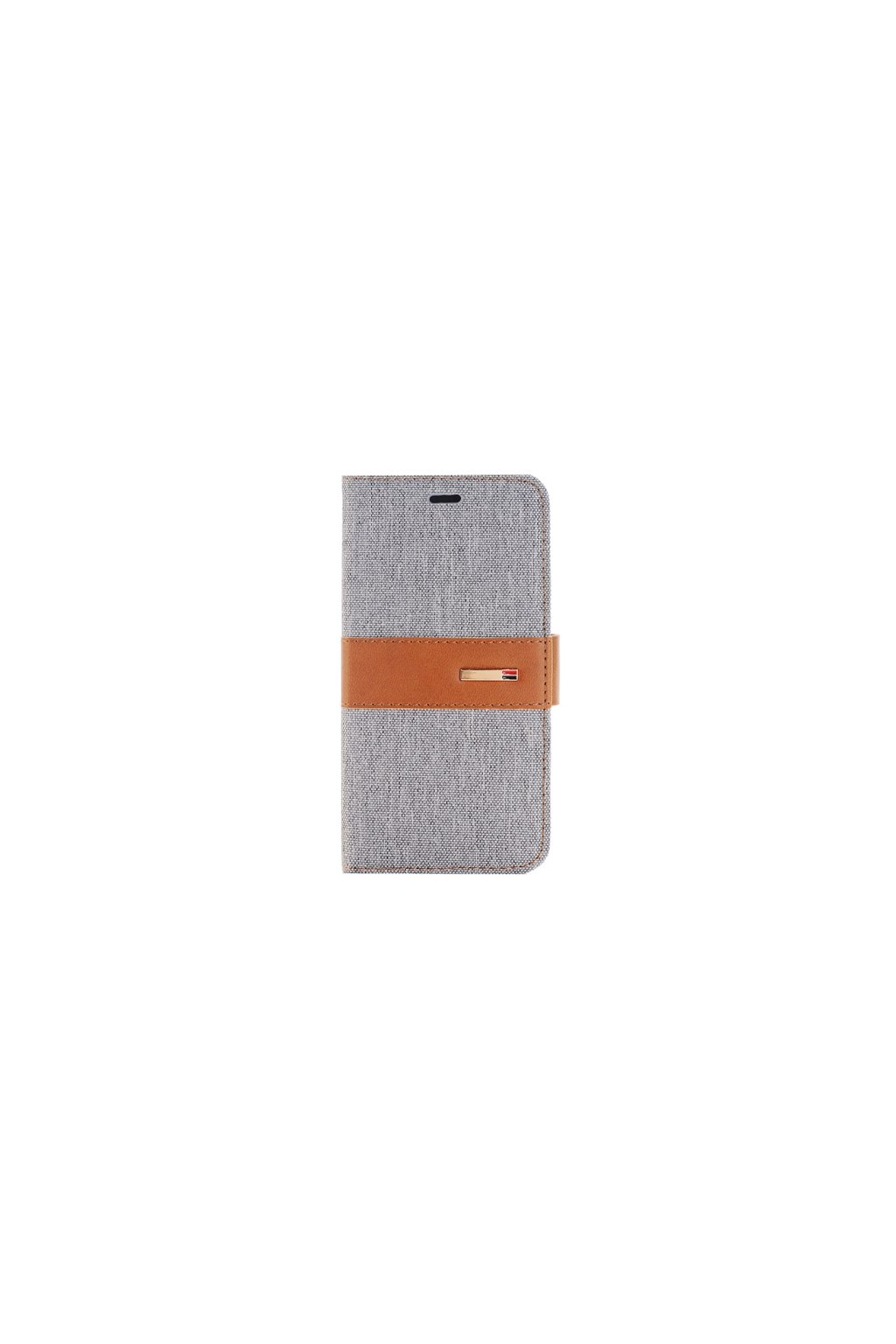 Apple iPhone 6/6S pouzdro flip DENIM, Grey