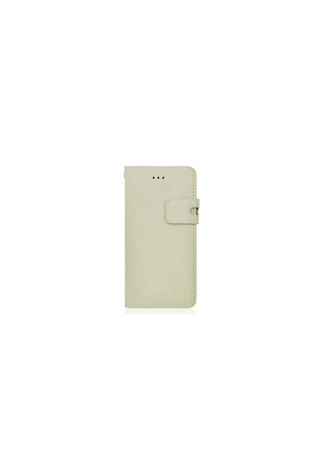 Apple iPhone 6/6S pouzdro flip FROSTED, White