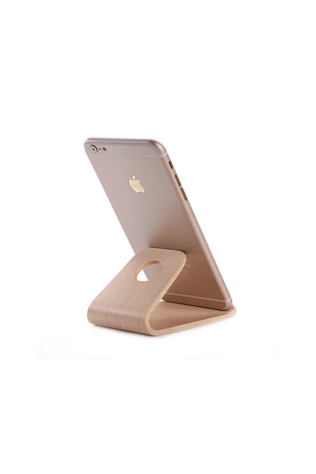 Dřevěný stojánek pro iPad a iPhone