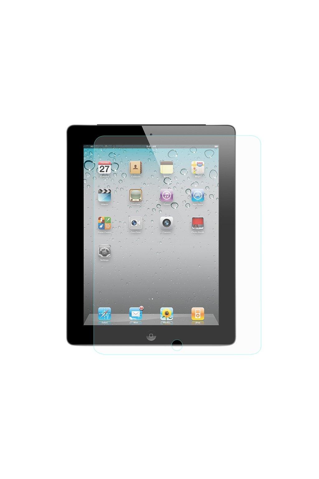 Temperované sklo 9H Apple iPad 2/3/4, čirá