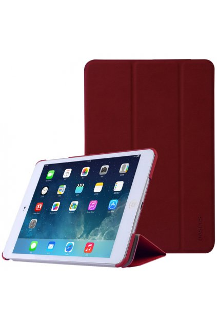 Pouzdro flip Baseus Smart Apple iPad mini 1/2/3, red
