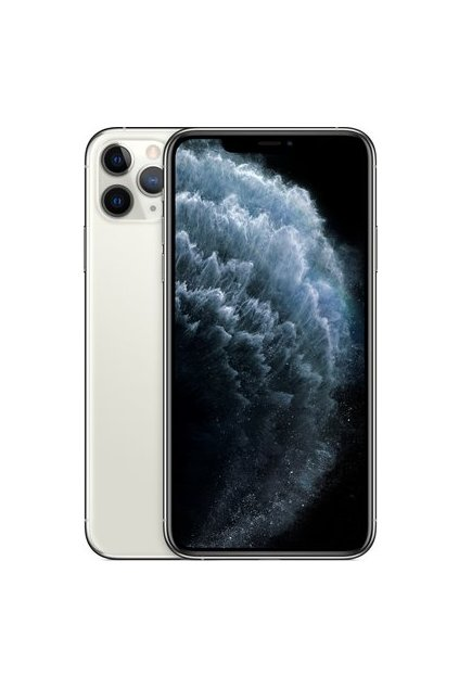 iPhone 11 Pro Max stříbrný, 512 GB