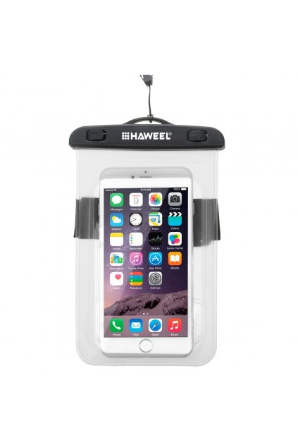 Voděodolné pouzdro HAWEEL Apple iPhone, transparent