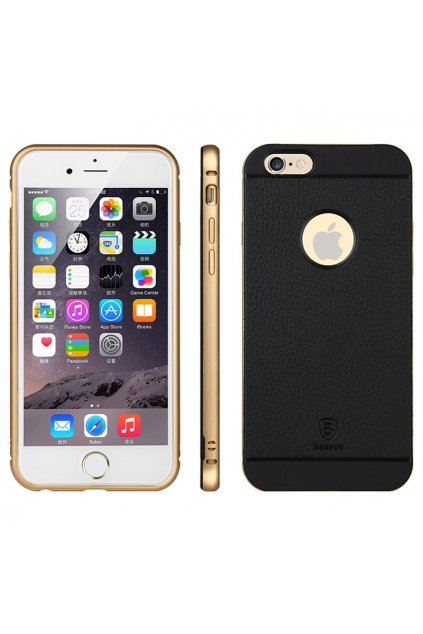 Pouzdro Baseus Bumper Luxury Apple iPhone 6, gold