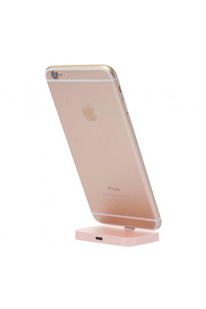 Nabíjecí stojánek pro iPhone s Lightning konektorem, Gold
