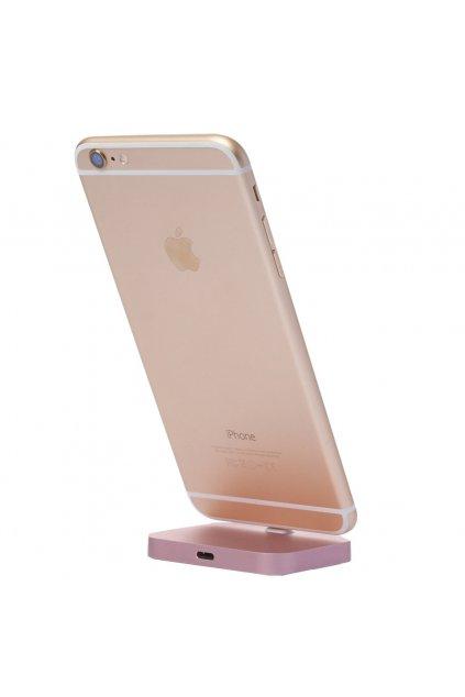 Nabíjecí stojánek pro iPhone s Lightning konektorem, Rose Gold
