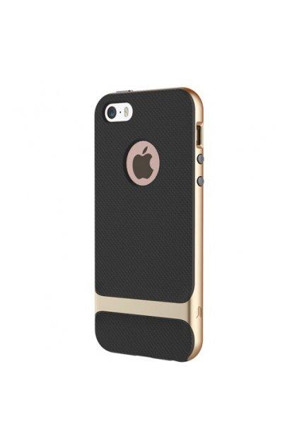 Pouzdro Rock Royce Apple iPhone 5/5S/SE Gold