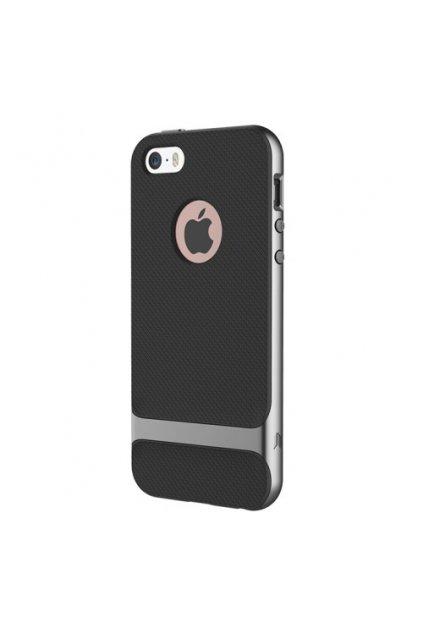 Pouzdro Rock Royce Apple iPhone 5/5S/SE , grey
