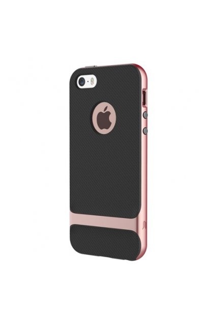 Pouzdro Rock Royce Apple iPhone 5/5S/SE Rose Gold