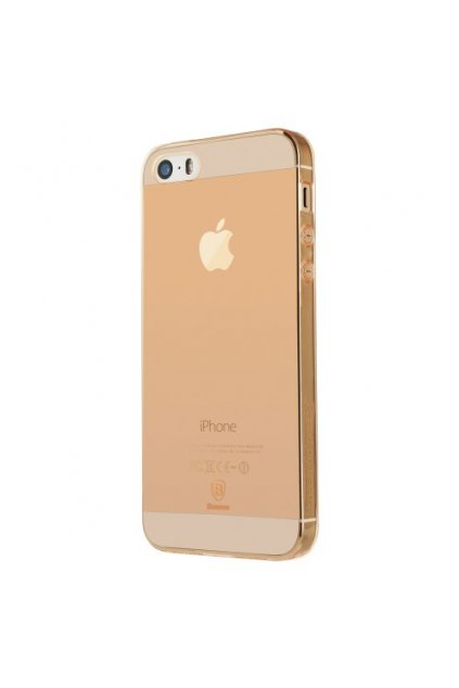 Pouzdro Baseus Simple Apple iPhone 5/5S/SE, rose gold