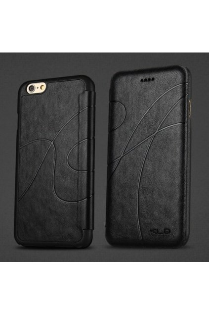 Pouzdro flip Oscar Apple iPhone 6/6S, black