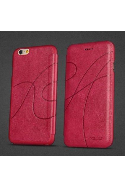 Pouzdro flip Oscar Apple iPhone 6/6S, rose