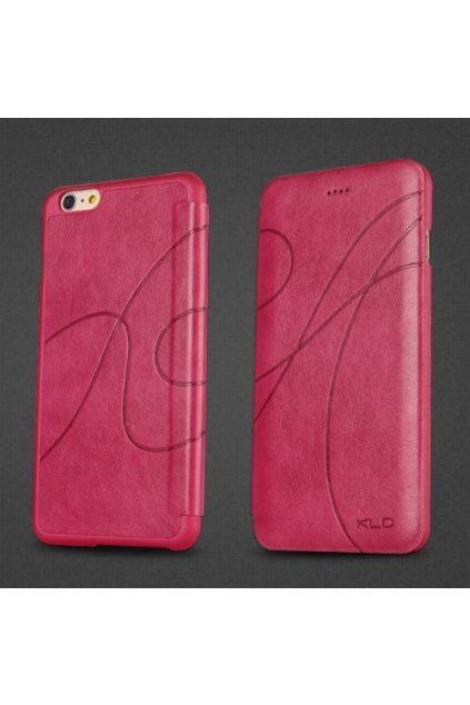 Pouzdro flip Oscar Apple iPhone 6/6S Plus, rose
