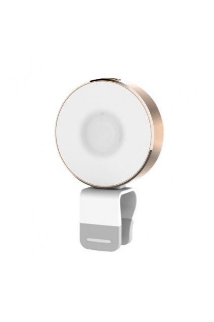 LED USB svítilna ROCK, gold