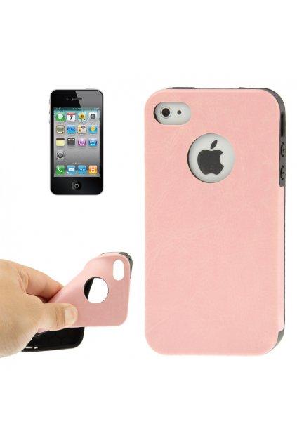 Pouzdro Crazy Apple iPhone 4/4S, pink