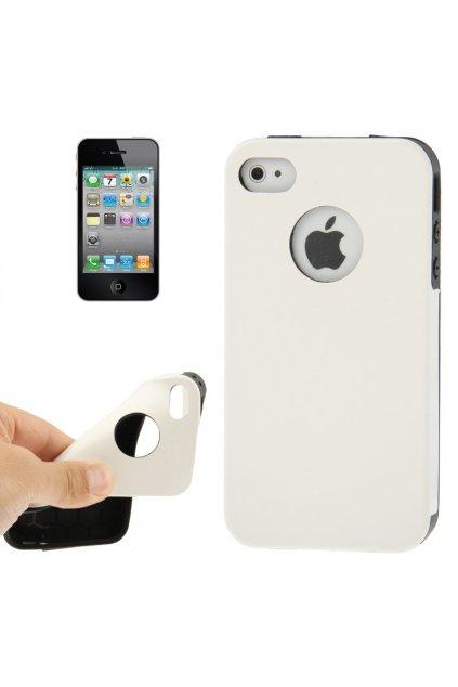 Pouzdro Crazy Apple iPhone 4/4S, white