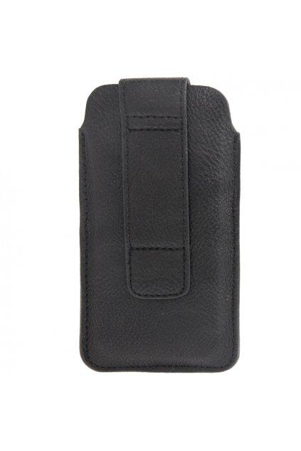 Koženkové pouzdro Kapsa iPhone 5/5S, black