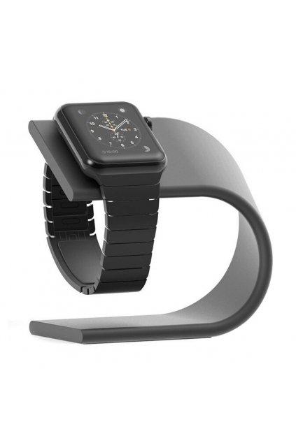 Hliníkový nabíjecí stojánek pro Apple Watch 38/42mm, grey