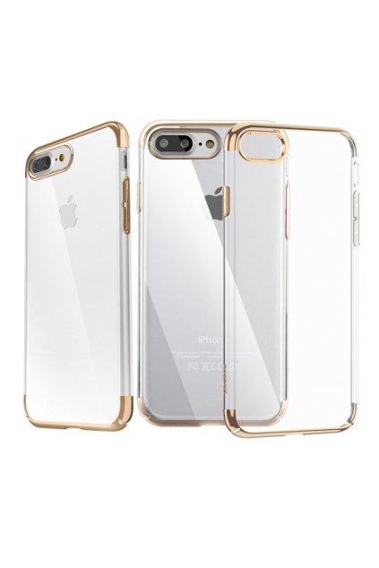 Pouzdro Baseus Super Slim Apple iPhone 7/8 Plus, gold