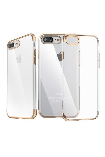 Pouzdro Baseus Super Slim Apple iPhone 7/8 Plus, gold