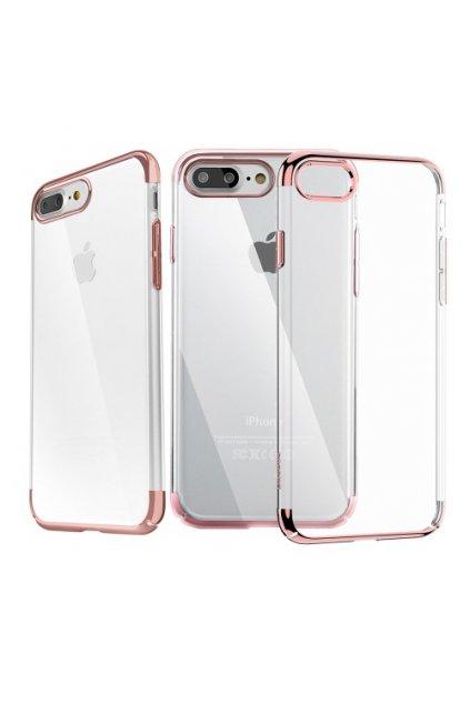 Pouzdro Baseus Super Slim Apple iPhone 7/8 Plus, rose gold