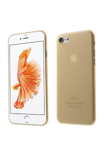 Pouzdro TPU Classic Apple iPhone 7/8, gold