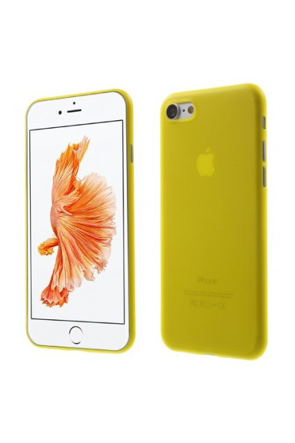 Pouzdro TPU Classic Apple iPhone 7/8, yellow