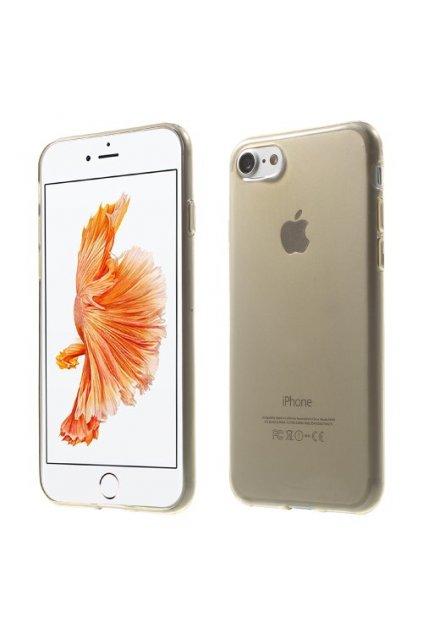Pouzdro silikonové Apple iPhone 7/8, gold