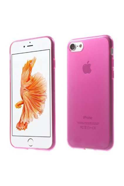 Pouzdro silikonové Apple iPhone 7/8, pink