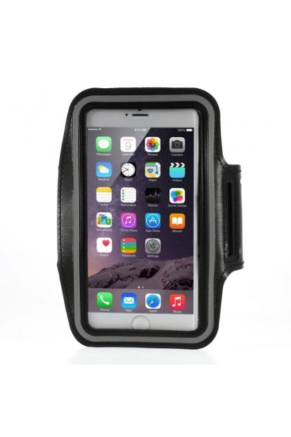 Sportovní pouzdro na ruku pro iPhone 6/7 Plus, black